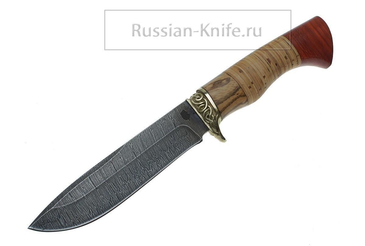 Дамасская сталь длина ножа мм 225 245