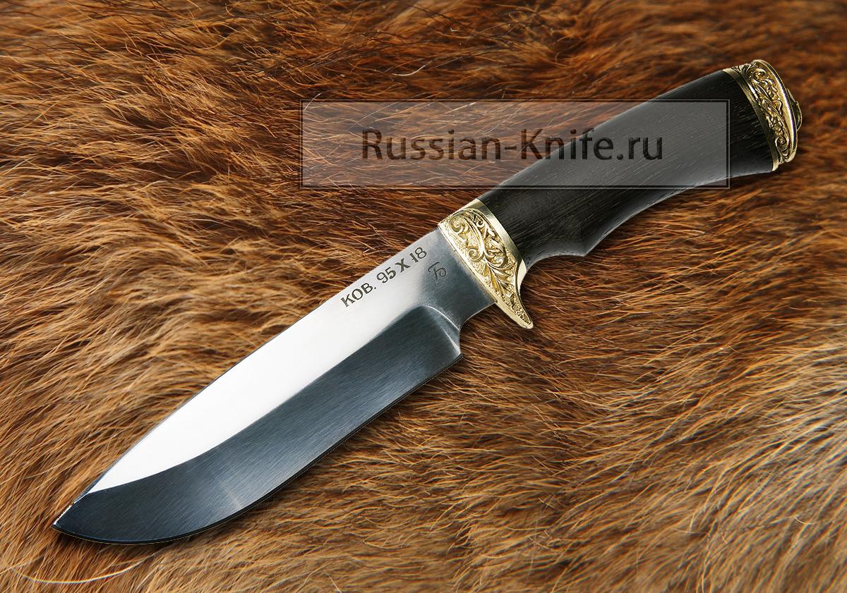 Нож волчица 2 сталь 95х18 в комплект