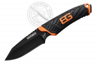 Нож Gerber Bear Grylls Compact Fixed Blade, Black, FE, блистер, 31-002946