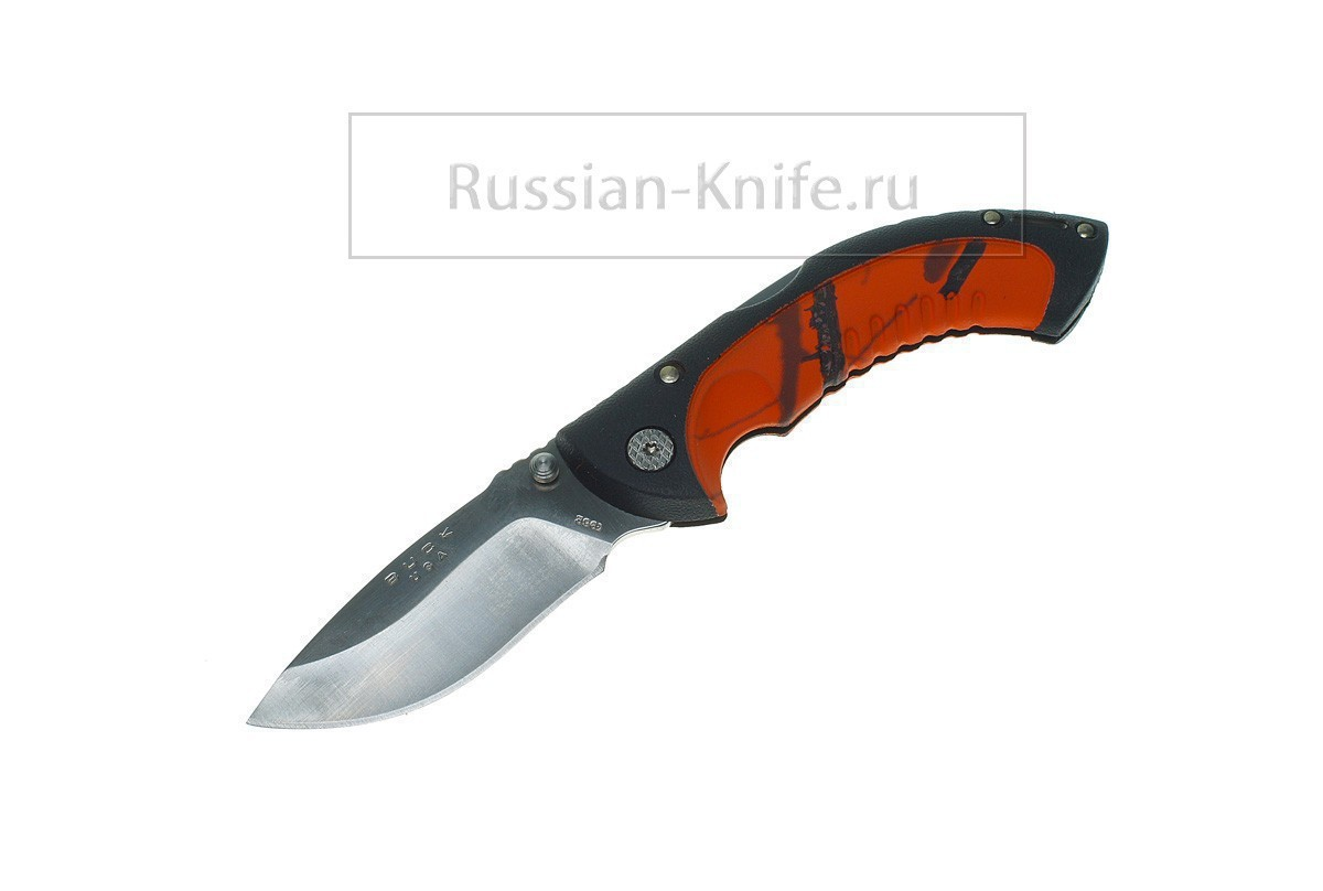 .Нож складной BUCK Omni Hunter Folding 10, сталь 12C27M, 0396 CMS9-B
