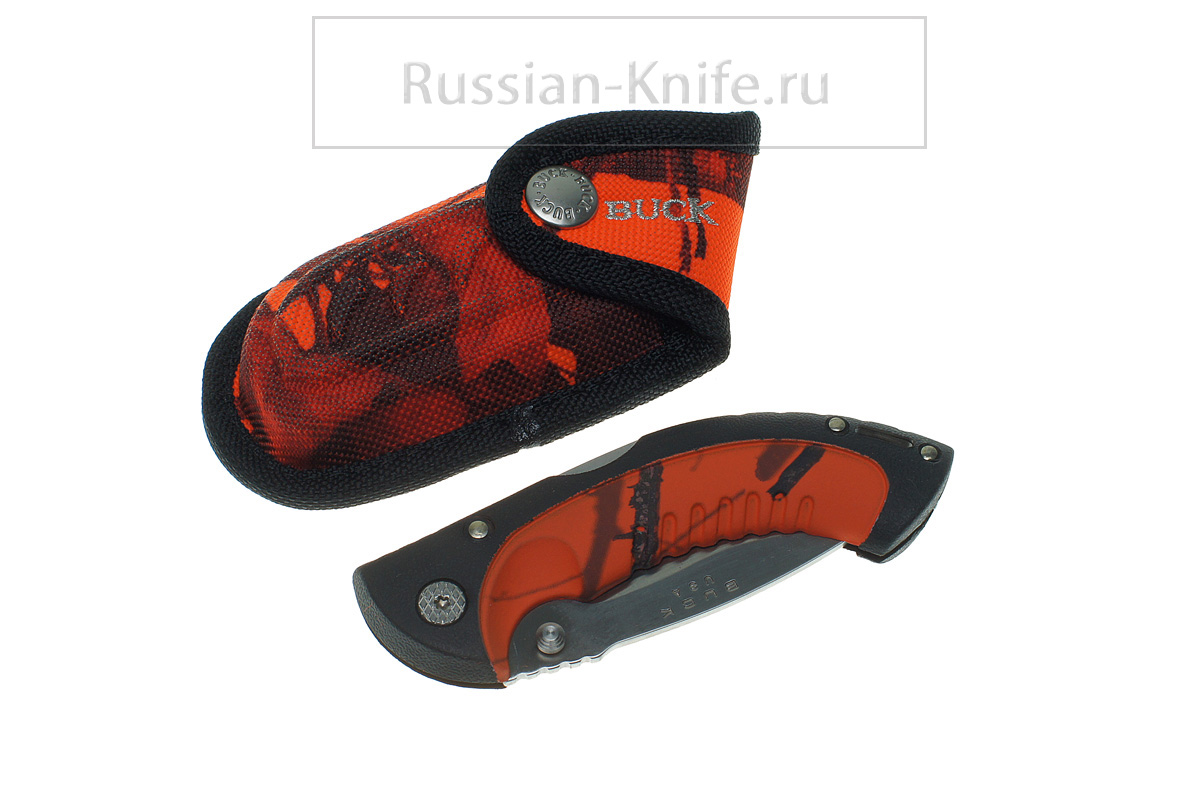Нож складной BUCK Omni Hunter Folding 10, сталь 12C27M, 0396 CMS9-B