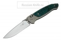 я Нож Скаут юбилейный номерной, А.Чебурков (сталь Х12МФ термоциклированная)