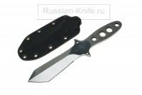 - Нож Дикр integral bushcraft, Ким В.Л. (сталь 95Х18), ножны- кайдекс