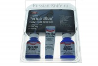 - Набор для воронения Birchwood Perma Blue Paste Gun Blue Kit - 13701