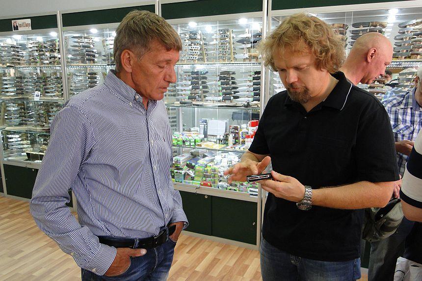 Чебурков А.И. в магазине Русские Ножи