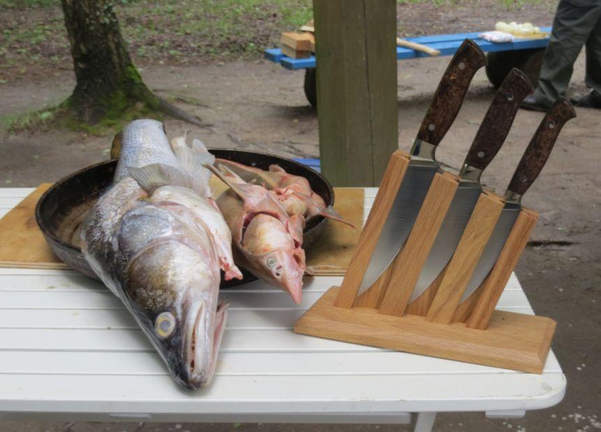 Кухонный набор ножей Чебуркова