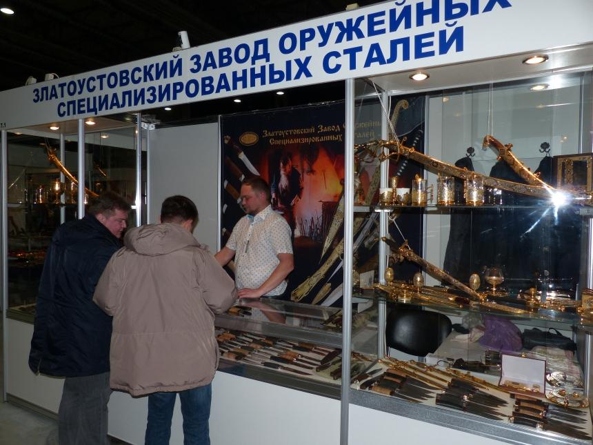 34-я международная выставка «Клинок - традиции и современность» магазина Русские Ножи, ноябрь 2016г