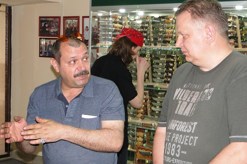 Пампуха И.Ю. в магазине Русские Ножи