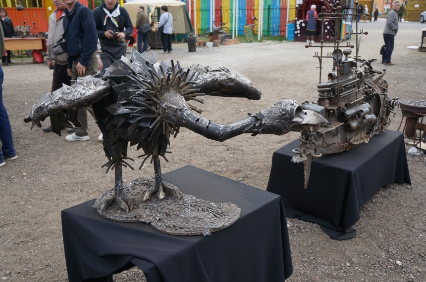 XI Бывалинский фестиваль Кузнечного искусств, май 2016г